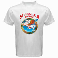New The Steve Miller Band *ABRACADABRA* Rock Band Men's White T-Shirt Size S-3XL