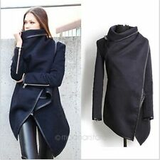 Fashion New Women's Slim Winter Warm Coat Long Wool Jacket Outwear Top Size S-XL