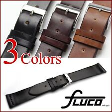 FLUCO Horween Shell Cordovan Unlined Leather Watch Strap