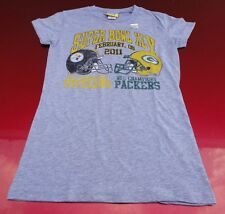 Junk Food Brand Steelers Packers Super Bowl XLV T-Shirt Girls size 4/6 NEW NWT