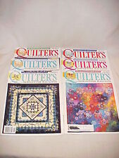 Quilter's Newsletter Magazine for Quilt Lovers, 2004--368-367-364-363-361-360