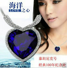Wholesale  ! Titanic Heart of Ocean necklace with crystal pendant
