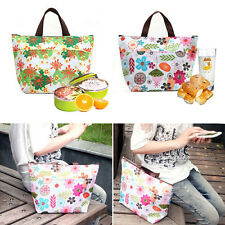 Hot Colorful Waterproof Insulated Bag Cooler Tote Hiking Picnic Lunch Handbag JD