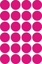 """24 Multi Color 2"""" Polka Dots 16 Available Colors Wall Decor Stickers Decals"""