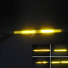 Amber 2FT 24IN 60CM 48 Led Light Strip Knight Rider Flash Strobe Scanner Neon
