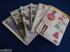 C Simplicity ~ All Patterns are Size 3-8 (3-4-5-6-7-8) 11+ Listed U-PICK 9579
