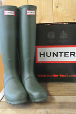 HUNTER BOOTS Original Back Adjustable in Green size 6 & 8