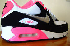 JUNIOR GIRLS  NIKE AIR MAX 90 2007 GS TRAINERS UK SIZE  3 - 5.5        ( 1 2 2 )