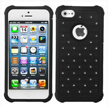 Hybrid Hard Back Case Cover Skin Case Cover for apple iPhone 5 5S 5G