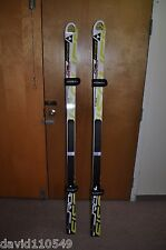 FISCHER RC4 WC GS RACE SKIS with RACE PLATE A020111 STIFF
