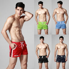 Male Gym shorts mesh breathable New store promotion  Men's runing wear dark blue