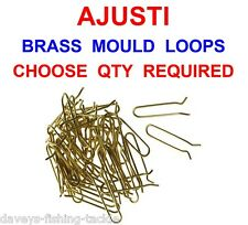 BULK AJUSTI BRASS LEAD WEIGHT MOULD LOOPS STRIKEOUT SEA BOMB 4+2 IN1 UPTIDE BOAT