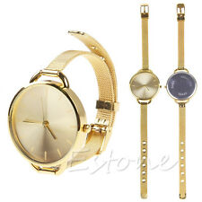 Fashion New Women Analog Dress Stainless Quartz Wrist Watches Ladies Girls Gift