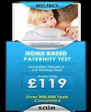 Reliable, Affordable, Accredited Paternity Test For Only £119 - 99.99% Accurate