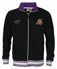 Zipway NBA Big and Tall Men's Los Angeles Lakers Warm Up Jacket - Black