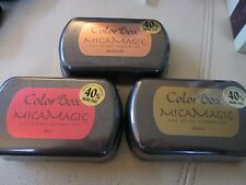 COLORBOX - COLOR BOX - CHOOSE 1 COLOR $5.99 NEW SEALED MICA MAGIC PIGMENT INK