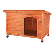 Dog House Pet Large Outdoor Kennel Durable Doghouse Deluxe Durable Pine Shelter