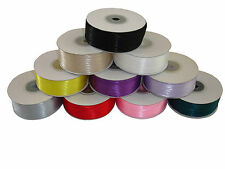 DOUBLE SIDED SATIN RIBBON - 3mm -100 METRES /5M - CRAFT - CARD MAKING  - WEDDING