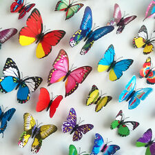 3D Butterfly Home Art Removable Decor Room DIY Decorations Decal Wall Stickers