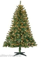 Pre-Lit 6.5' Madison Pine Artificial Christmas Tree -Clear Or Multi color lights