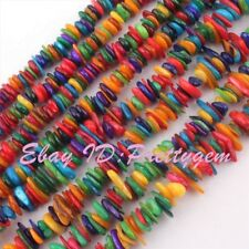 Freeform Shape Multicolor Shell Mop Gemstone For DIY Jewelry Making Beads