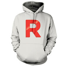 Team Rocket - Unisex Hoodie / Hooded Top - TV - Movie - Gaming - 9 Colours