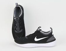 NIKE Solarsoft Costa Low Moccasin Black/ White/ Grey NSW 631389-010 Mens Shoes