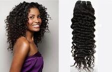 "Brazilian Virgin Remy Human Hair Curly Kinky Unprocessed Weave Extension 12""-18"""