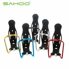 Bike Bicycle Cycling Aluminum Alloy Adjustable Water Bottle Holder Cage + Screws