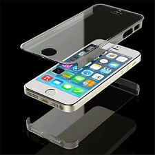 For iPhone 4 /4S/5/5S Ultra Thin Transparent Clear Full Body Hard Case Cover