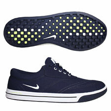 New Nike Lunar Swingtip Canvas Mens Golf Shoes Navy Blue 552078-400 - Pick Size