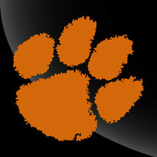 Clemson Tigers Paw Print Decal Sticker - TONS OF OPTIONS