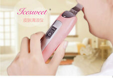 Portable Ultrasonic Skin Scrubber Microdermabrasion Facial Cleaner Massager