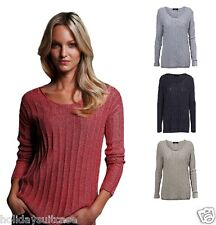 NEW LADIES WOMANS SPARKLE GLITTER CHRISTMAS PARTY TOP SWEATER SIZE 14 -26 UK