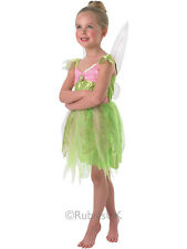 Child Disney Tinkerbell Light Up Outfit Fancy Dress Costume Peter Pan