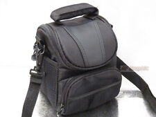 V91 Waterproof Carrying Camera Camcorder Case Cover Shoulder Bag Black for SONY