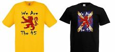 We Are The 45 % percent. Scotland, Scottish independence T shirt September 2014