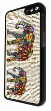 Amazon Fire Phone 2014 Vintage News Aztec Elephants Fashion Case Back Cover