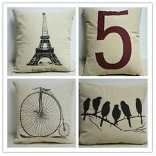 Simple Fashion linen Throw Pillow Cases Home Decorative Cushion Cover Square hot