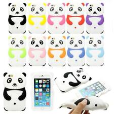 3D Cartoon Cute Lovely Panda Soft Silicone Cover Case For Apple iPhone 6 6S 4.7""