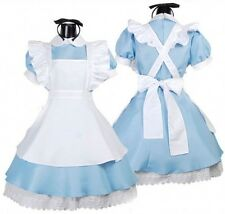 Alice in Wonderland Cosplay Girl Lolita Fashion French Maid Costume Fancy Dress
