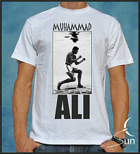 CAMISETA MUHAMMAD ALI BOXEO BOXING IMPOSSIBLE IS NOTHING LEGEND VICTORY SIL