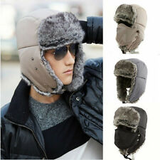 2014 Men Winter Trapper Aviator Trooper Earflap Warm Ski Hats With Mask 122