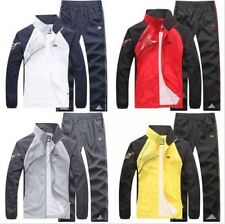 Hot Men's Spring&Autumn Activewear Jogging Sport Suits Jacket Pants tracksuit