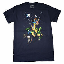 Minecraft Tight Spot OFFICIAL Jinx US Import Gaming Unisex Navy Blue T-Shirt
