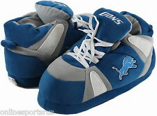 Detroit Lions Slippers Hi Top Boot Sneaker Look