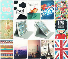 Slim Flip Plug-in 360 Rotate Stand Case Cover For Apple iPad 2/3/4 Air Mini 1/2