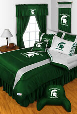 Michigan State Spartans Sidelines Complete Bedding Set - 19-0626-Set
