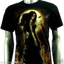 Rock Eagle T-Shirt Sz M L XL XXL 3XL Sexy Moon Grim Biker Tattoo Street RE118 D1