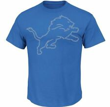 Detroit Lions MENS Shirt T-Shirt Fantasy Leader III by Majestic Athletic